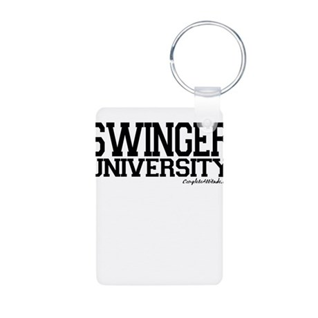 Swinger University Aluminum Photo Keychain