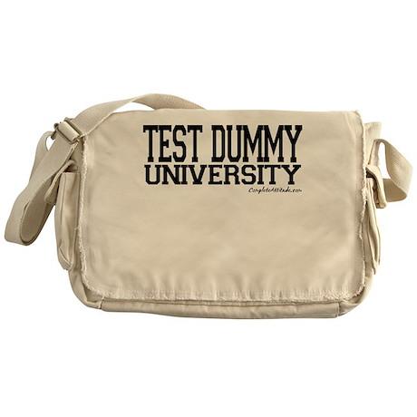 Test Dummy University Messenger Bag