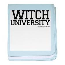 Witch University baby blanket