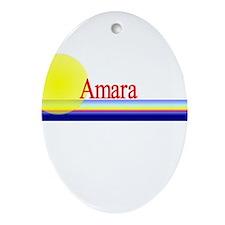 Amara Oval Ornament