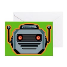 Buy Me A Robot Head Greeting Card