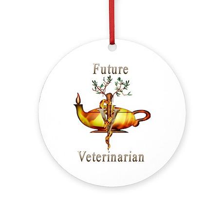 Future Veterinarian Ornament (Round)