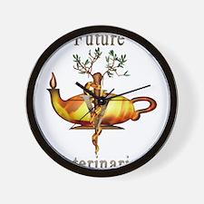 Future Veterinarian Wall Clock