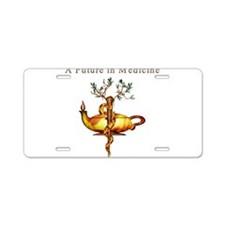 Future in Medicine Aluminum License Plate