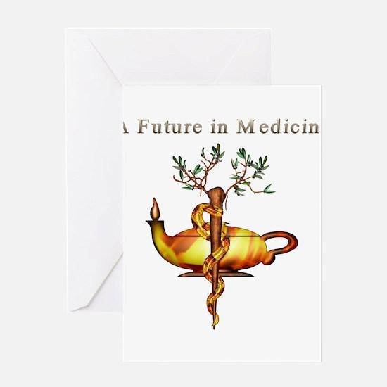 Future in Medicine Greeting Card