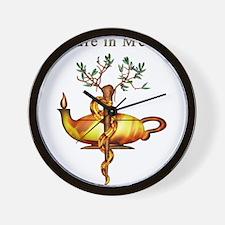 Future in Medicine Wall Clock