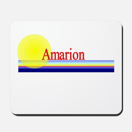 Amarion Mousepad
