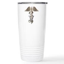 Veterinarian Caduceus Travel Mug