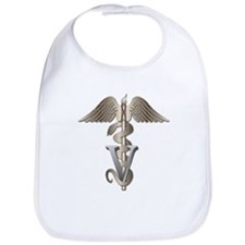 Veterinarian Caduceus Bib