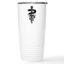 Veterinary Caduceus Travel Mug