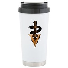 Veterinary Caduceus Travel Mug