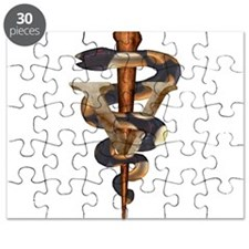 Veterinary Caduceus Puzzle