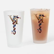 Veterinary Tech Drinking Glass