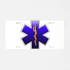 Star of Life(EMS) Aluminum License Plate