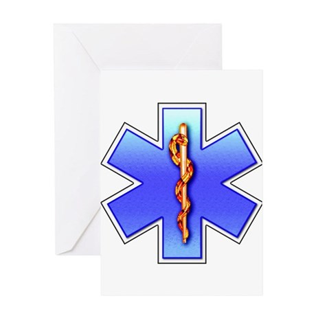 Star of Life(EMS) Greeting Card