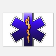 Star of Life(EMS) Postcards (Package of 8)