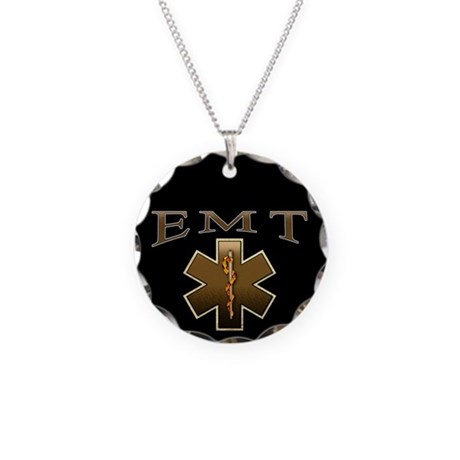 EMT(Browns) Necklace Circle Charm