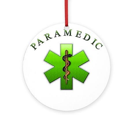 Paramedic(Green) Ornament (Round)