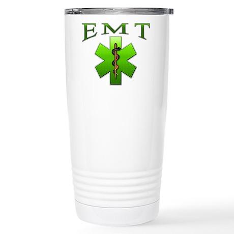 EMT(Green) Stainless Steel Travel Mug