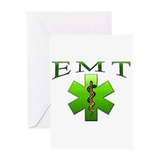 EMT(Green) Greeting Card