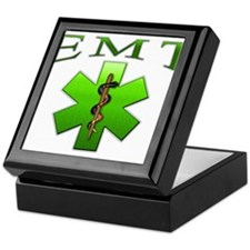 EMT(Green) Keepsake Box