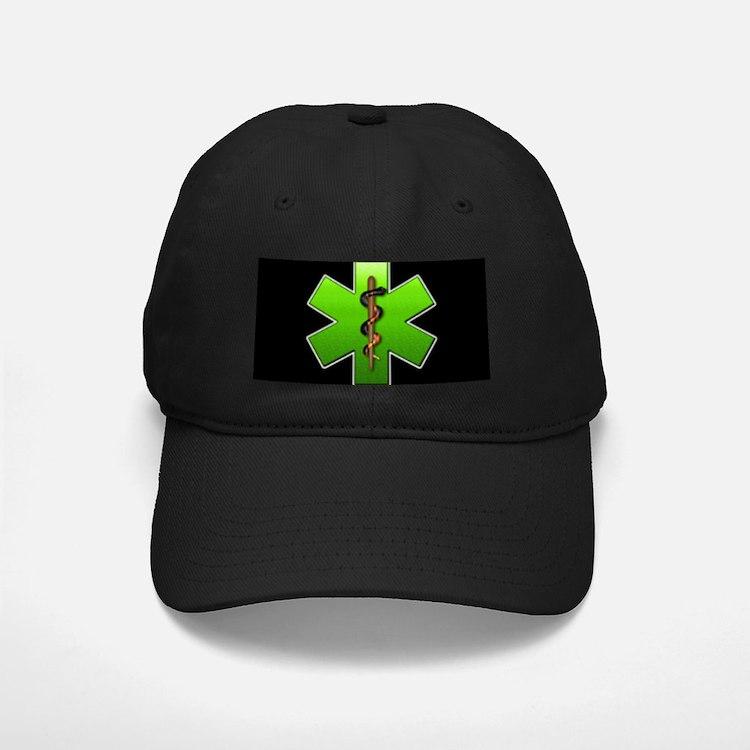 Star of Life(Green) Baseball Hat