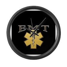 EMT(Gold) Large Wall Clock