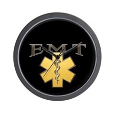 EMT(Gold) Wall Clock