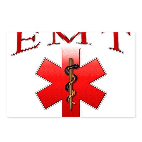 EMT(Red) Postcards (Package of 8)