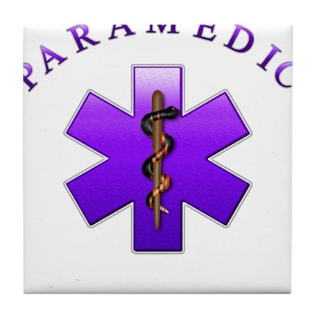Paramedic(Emerald) Tile Coaster