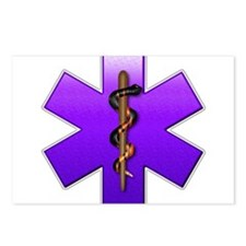 Star of Life(Violet) Postcards (Package of 8)