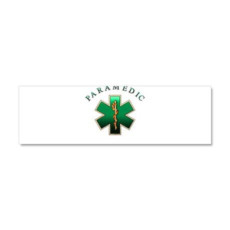 Paramedic(Emerald) Car Magnet 10 x 3