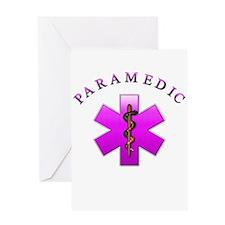 Paramedic(pink) Greeting Card