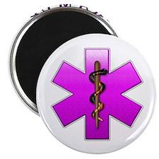 "Paramedic(pink) 2.25"" Magnet (100 pack)"