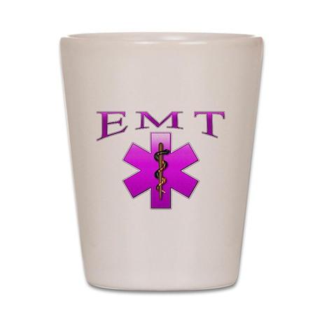 EMT(pink) Shot Glass