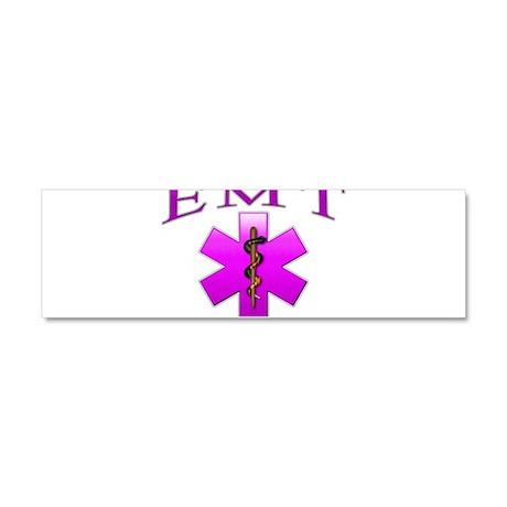 EMT(pink) Car Magnet 10 x 3