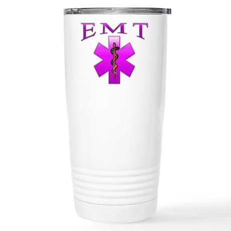 EMT(pink) Stainless Steel Travel Mug