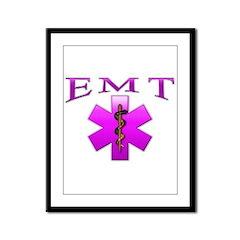 EMT(pink) Framed Panel Print