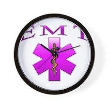 EMT(pink) Wall Clock