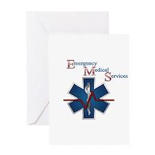 EMS Life Line Greeting Card