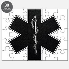 Star of Life(BW) Puzzle