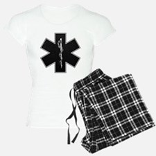 Star of Life(BW) Pajamas
