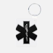 Star of Life(BW) Keychains