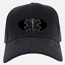 Star of Life(BW) Baseball Cap