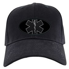 Star of Life(BW) Baseball Hat