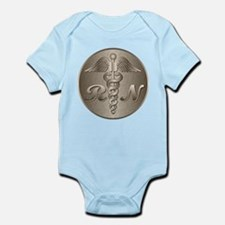 RN Caduceus Gold Infant Bodysuit