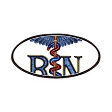 RN Caduceus Patches