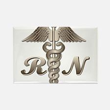 RN Caduceus Rectangle Magnet (10 pack)