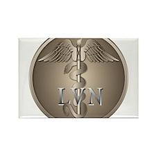 LVN Caduceus Rectangle Magnet