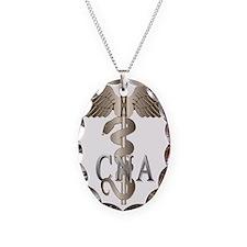 CNA Caduceus Necklace